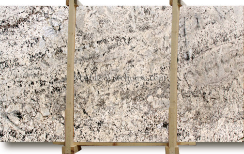Floratta White Granite Slab kitchen-countertops