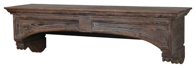 Auden Fireplace Mantel traditional-fireplace-mantels