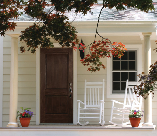 Fiberglass Exterior Doors Traditional Front Doors Milwaukee By Western Building Products