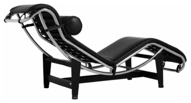 Le Corbusier Chaise Lounge - LC4 by Rove Concepts contemporary-day-beds-and-chaises
