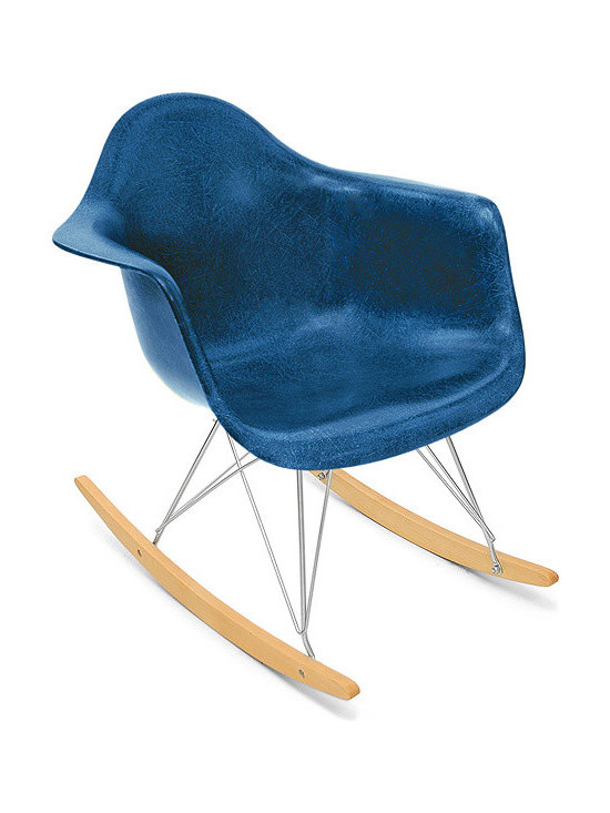 Modernica Arm Shell Rocker - The Case Study Fiberglass Rocking Chair is an essential for the modern home and with so many options—it is possible to create your own one-of-a-kind chair. The shell is available in a myriad of colors.