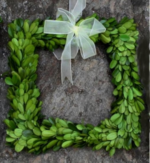Contemporary Wreaths And Garlands by Mills Floral Company