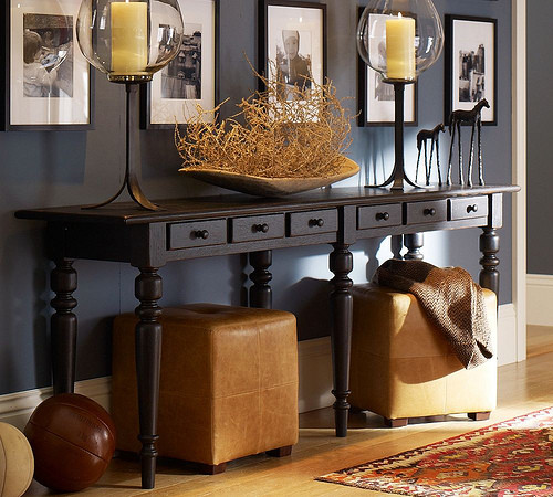 Entryway - pottery barn eclectic 