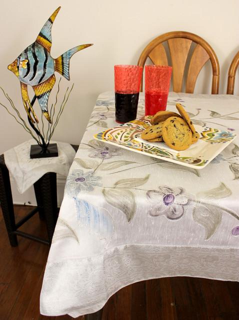 Unique & Decorative Tablecloths asian-tablecloths