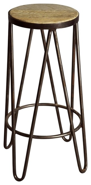 Boomerang Bar Stool contemporary-bar-stools-and-counter-stools