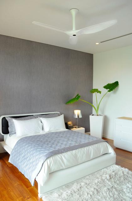 Haiku Fans contemporary-bedroom