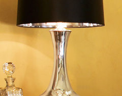 Mercury Glass Lamp traditional lamp shades