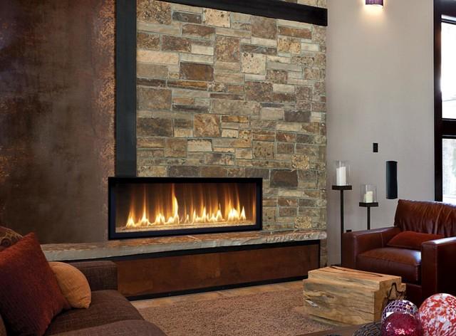 HO GreenSmart Linear Gas Fireplace - Transitional - Indoor Fireplaces - Similiar Indoor Gas Fireplaces Keywords