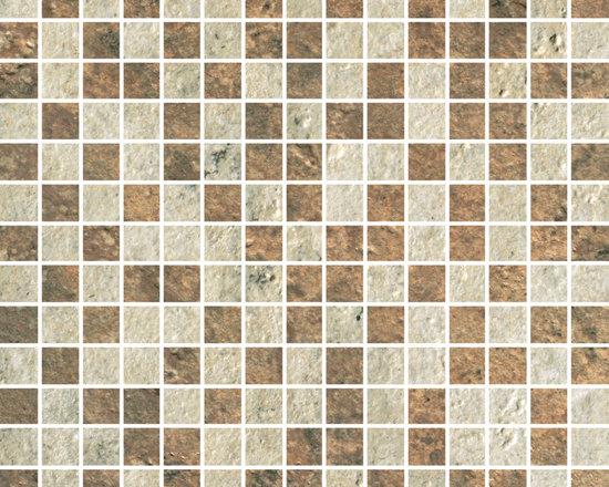 Cesare Magnus Collection Golden+Bronze Micro Mix Mosaic -