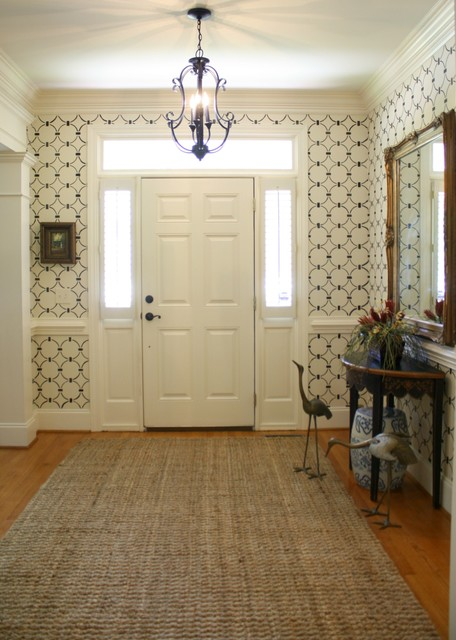 Entryway eclectic-entry