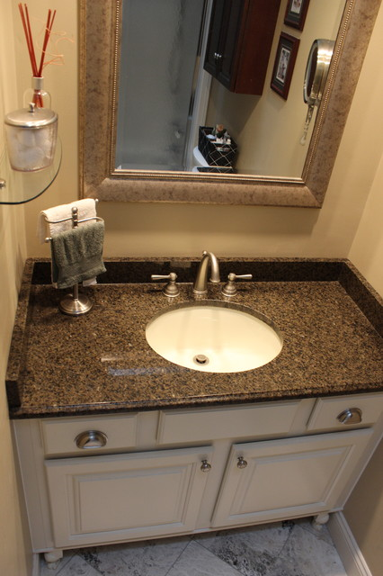 Bathroom Vanity Medina Oh 1 Traditional Vanity Tops And Side Splashes Cleveland By