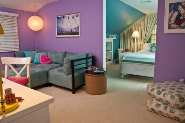 Fun teen bedroom beach style bedroom new york by Fun teen rooms