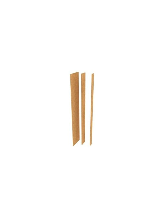 """Pre-Cut Filler Wood Panel (3"""") - The Pre-Cut Filler Wood Panel (3"""") is used to fill in gaps between racks and walls. It will give a wine cellar a smoother and more finished appearance."""