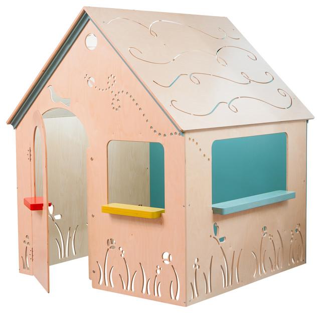 Wooden Indoor Playhouse - Wooden Designs
