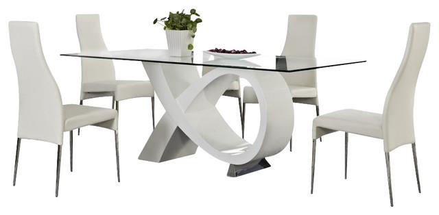Brandy Contemporary Dining Set modern-dining-sets
