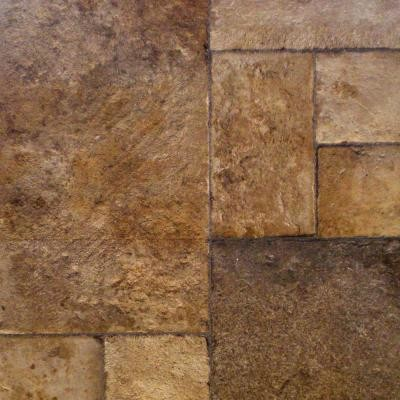 Hampton Bay Tuscan Stone Bronze Click Lock Laminate