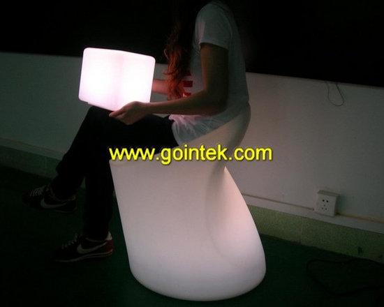 led bar stool,illuminated outdoor stool seating -