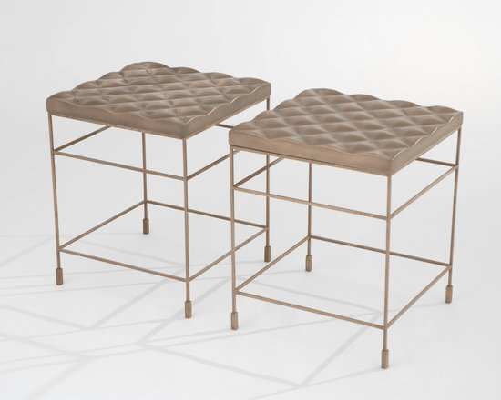 """Gabriel Quilted Accent Tables - Art 