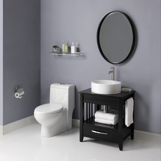 Small bathroom vanities traditional bathroom vanities and sink consoles los angeles by - Small space bathroom sinks style ...