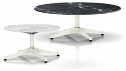 Herman Miller | Eames® Round Occasional Tables with Contract Base, Outdoor modern-side-tables-and-end-tables