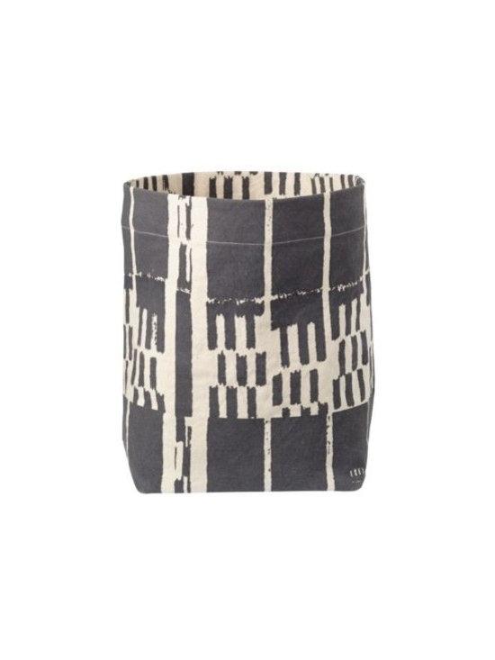 Landscape Floor Bin, Gray -