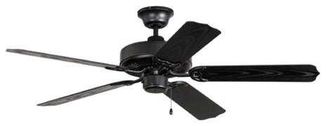 Ellington WOD52MBK5X All Weather Fan Without Light traditional-ceiling-fans