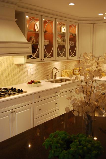 Jen's Traditional White Kitchen traditional-kitchen