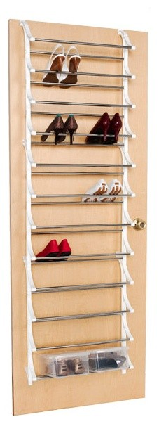 36-Pair Overdoor Shoe Rack storage-and-organization