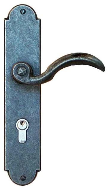 Provencal Mortise Entry, Entry Lock - Rustic - Door Locks ...