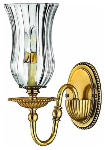 Hinkley Lighting 4640BB 1 Light Sconce Cambridge Collection traditional-wall-sconces