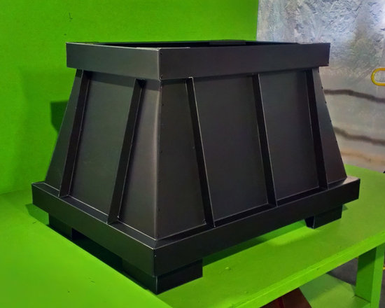 Chimney King, LLC - Royale - This Beautiful Black Zinc Decorative Chimney Shroud is from our Royale line . As with all of our Decorative Shrouds.they comply with International, Residential, Mechanical and Fire Codes and are UL or OMNI, Tested, Listed, Labeled and Safe!