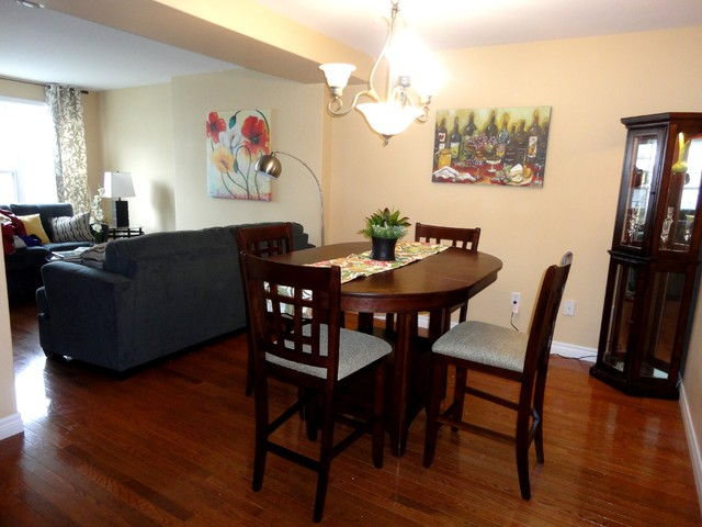 Before & After:  Bachelor Pad...NOT! traditional-dining-room