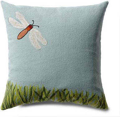 Dragonfly Outdoor Pillow eclectic outdoor pillows