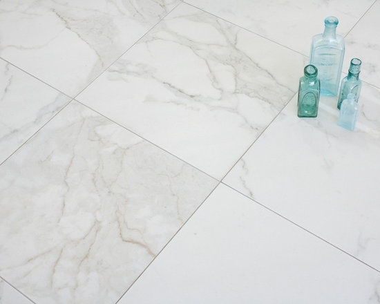 Calacatta 18x18 Porcelain Tiles at Mission Stone TIle - Mission Stone and Tile