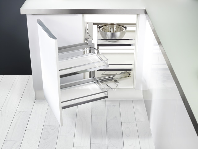 Magic Corner Cabinet - Kitchen Drawer Organizers - wilmington - by Clever Storage by Kesseböhmer