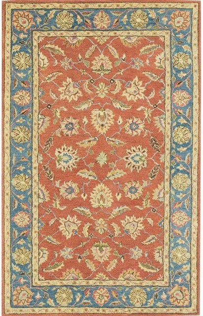 Old london area rug traditional rugs by home Home decor rugs