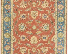 Old London Area Rug traditional-rugs