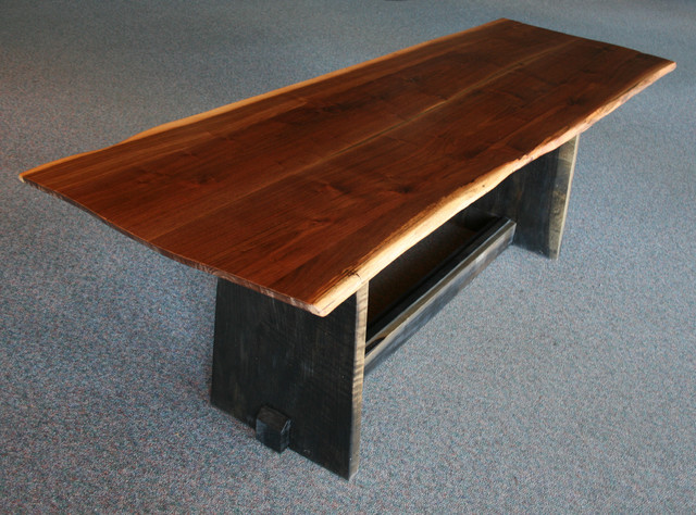 Perfect Modern Trestle Dining Table 640 x 474 · 116 kB · jpeg