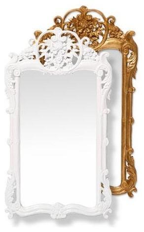 Barbara Cosgrove Studio X-Mirror Floral traditional-mirrors