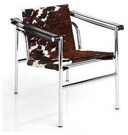 Corbusier LC1 Sling Chair - Cowhide | DWR contemporary-accent-chairs
