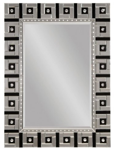 Art Deco Venetian Full Length Leaning Floor Mirror - 36W x 48H in ...