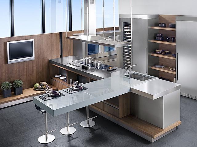 Porcelanosa Kitchen Cabinets modern-kitchen-cabinetry