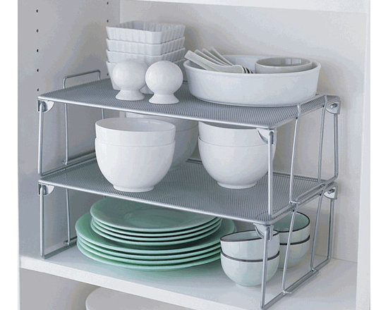 Folding Mesh Stacking Shelf, Large -