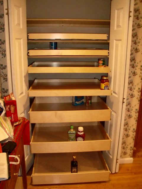 Pantry Pull Out Shelves - portland - by ShelfGenie of Portland