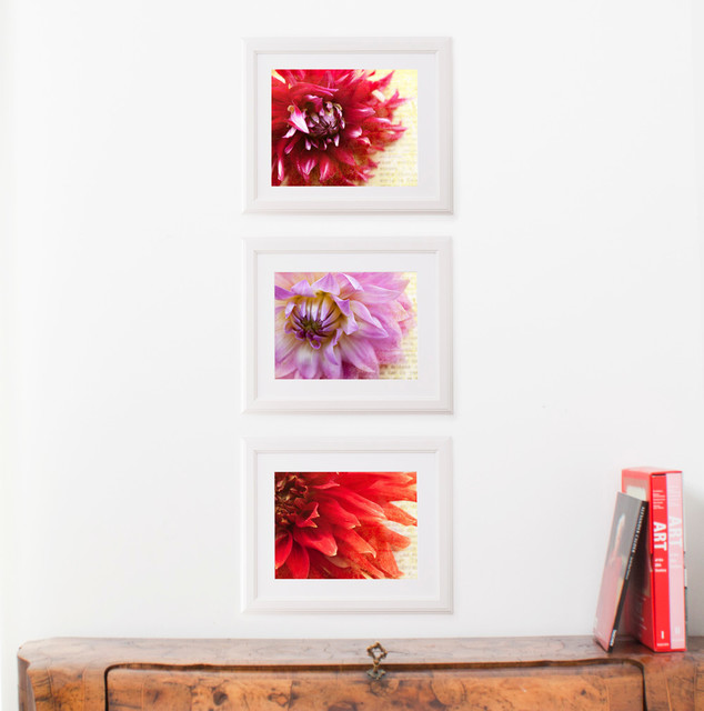 DUEALBERI Floral Art Prints traditional-artwork