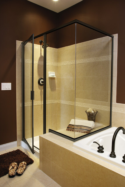Shower doors traditional shower doors houston by for Bathroom ideas jacuzzi