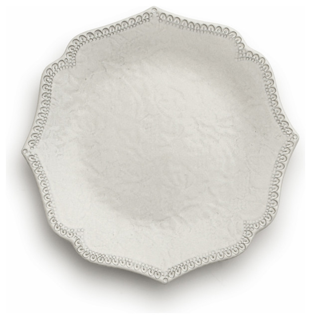 Merletto Antique Scalloped Salad Dessert Plate Individual