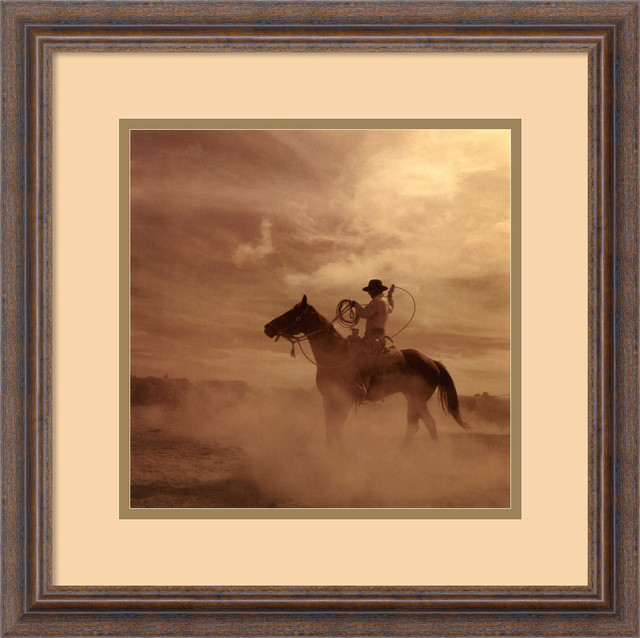 On The Range II Framed Print by Adam Jahiel traditional-prints-and-posters