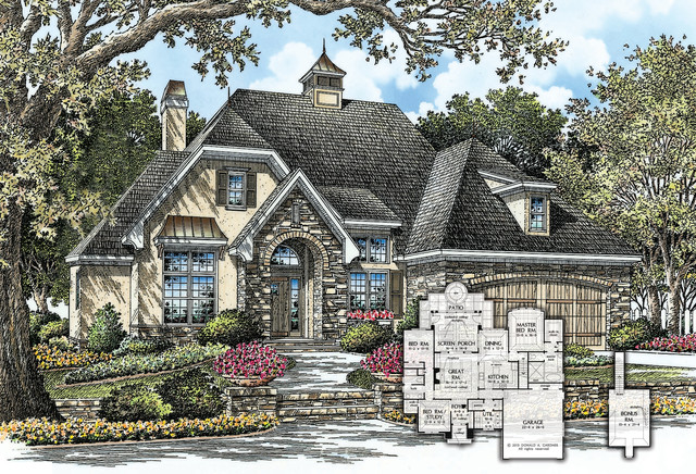 The Lucerne - Plan #1319 contemporary-rendering