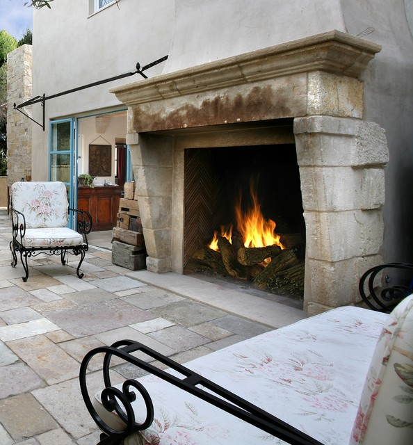 antique stone fireplace mantels exterior los angeles by